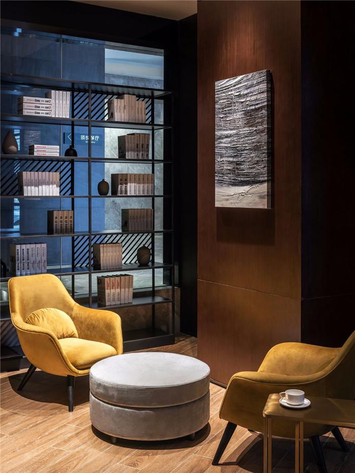 上海和颐连锁精品商务酒店大堂休闲区改造设计方案