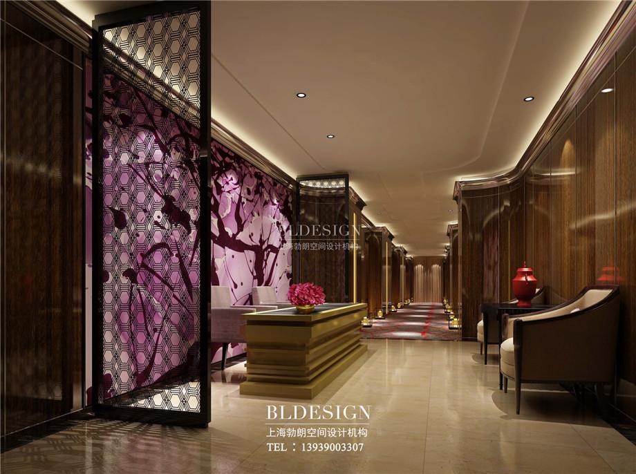 宾客接待区设计-信阳沁园春公馆洗浴酒店设计案例