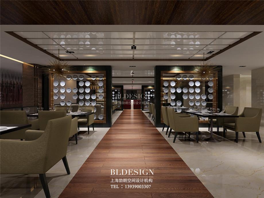 餐厅设计-信阳沁园春公馆洗浴酒店设计案例