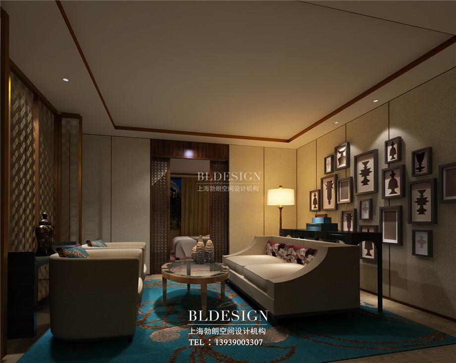 客房设计-信阳沁园春公馆洗浴酒店设计案例