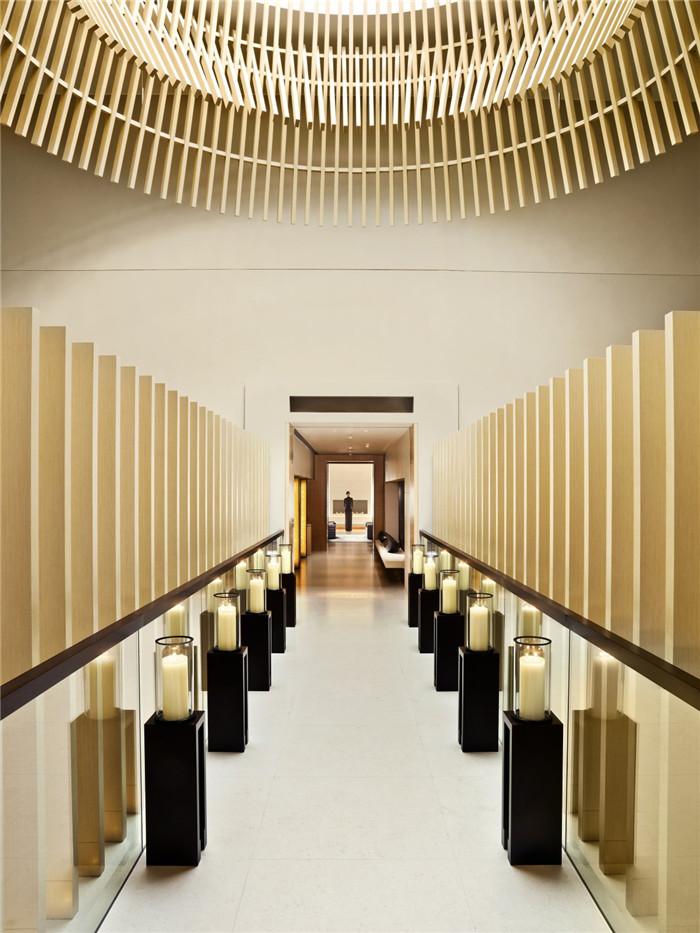 简约的奢华   The Upper House精品酒店设计方案