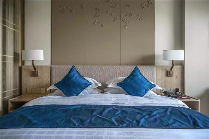 客房设计-坐落于山水中的中式奢华度假酒店设计方案