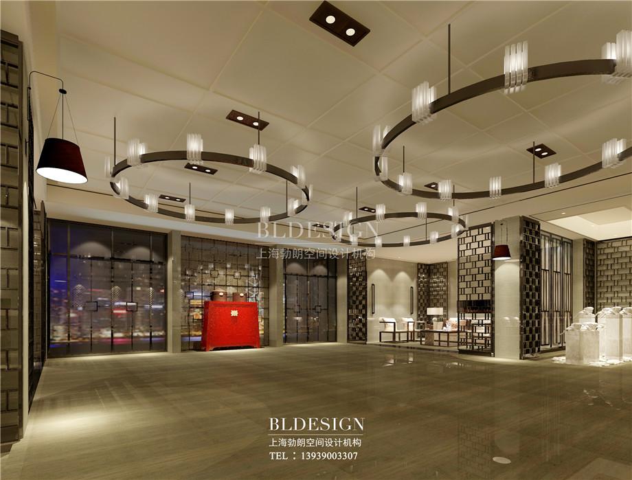 大厅设计-新乡中原健康温泉度假酒店设计方案