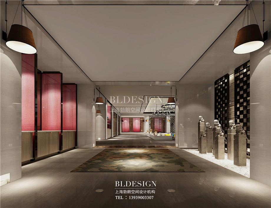 走廊设计-大厅设计-新乡中原健康温泉度假酒店设计案例