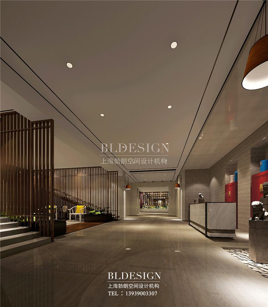 接待大厅设计-新乡中原健康温泉度假酒店设计案例