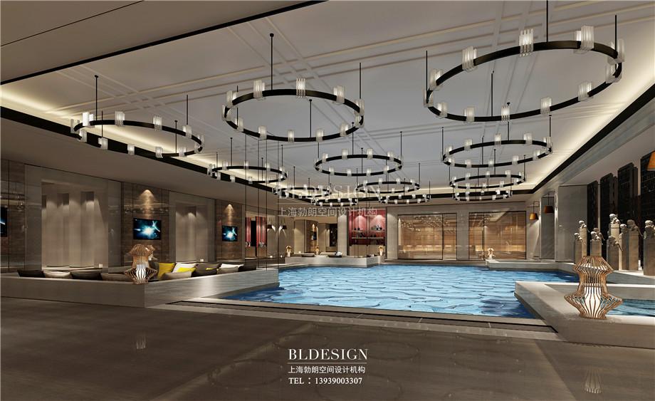 浴区设计-新乡中原健康温泉度假酒店设计效果图