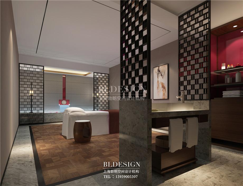 SPA房设计-新乡中原健康温泉度假酒店设计案例