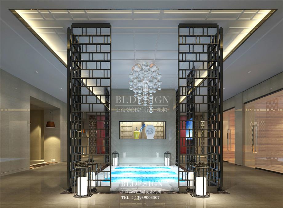 浴区设计-新乡中原健康温泉度假酒店设计案例