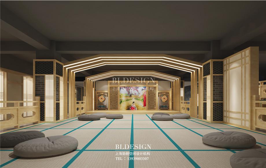 郑州澜亭汤泉汗蒸广场室内设计效果图