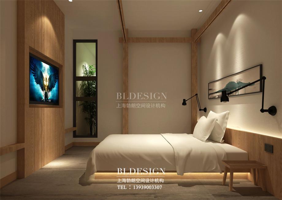济州岛韩式汗蒸汤泉客房设计案例效果图