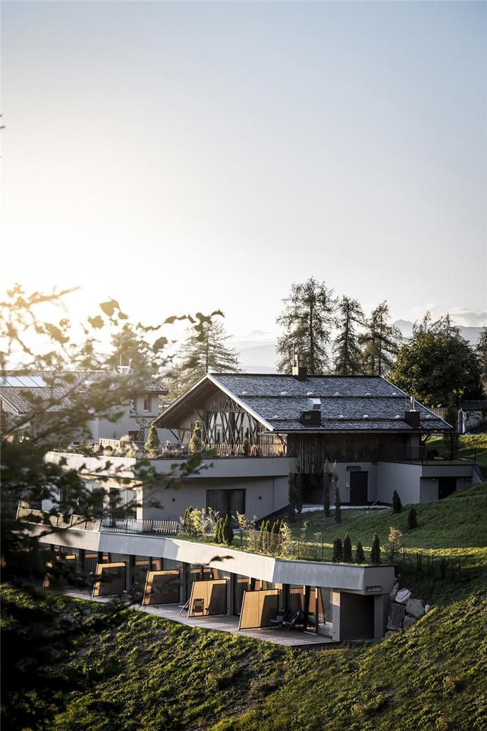酒店建筑外观设计-意大利Gfell高品质度假酒店设计案例分析