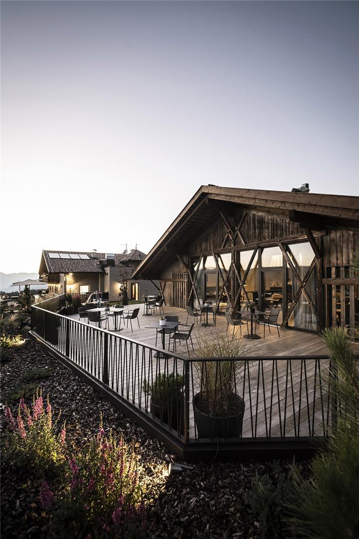 酒店露台设计-意大利Gfell高品质度假酒店设计案例分析