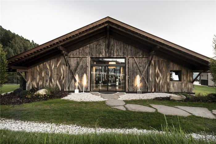 酒店入口设计-意大利Gfell高品质度假酒店设计案例分析