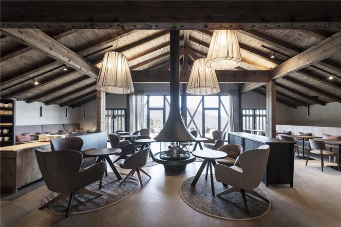 酒店大厅设计-意大利Gfell高品质度假酒店设计案例分析
