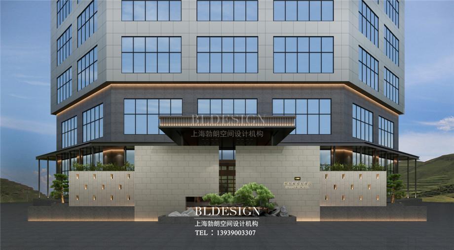 新乡五星级酒店设计-桃李春风大酒店外观设计方案