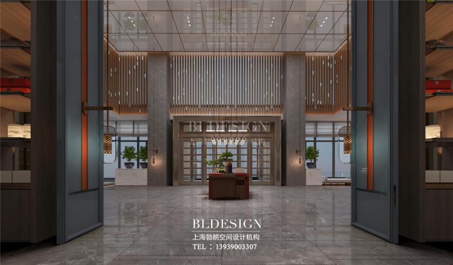 新乡五星级酒店设计-桃李春风大酒店设计案例
