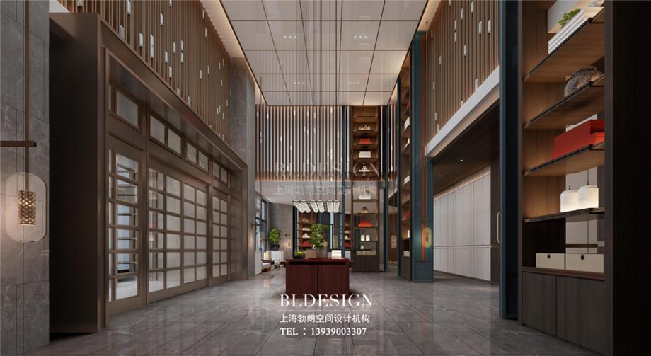 新乡五星级酒店设计-桃李春风大酒店大厅设计方案