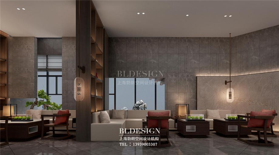 新乡五星级酒店设计-桃李春风大酒店大厅休闲区设计案例
