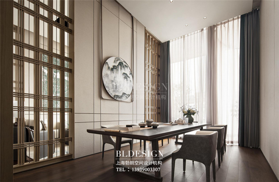 新乡五星级酒店设计-桃李春风大酒店茶艺区设计案例