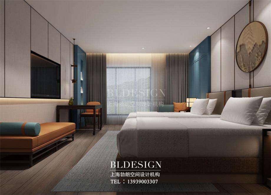 新乡五星级酒店设计-桃李春风大酒店客房设计案例效果图