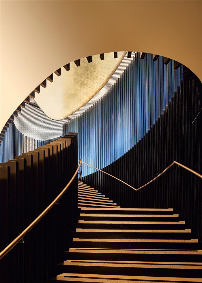酒店楼梯设计-国外特色度假酒店设计  RACV度假酒店设计方案