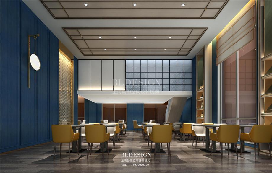 云南酒店设计-云南月伴湾精品酒店餐厅改造设计方案