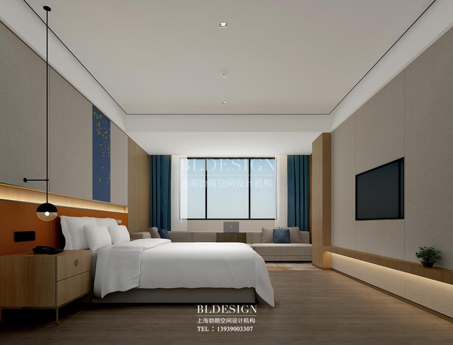 云南酒店设计-云南月伴湾精品酒店客房改造设计方案