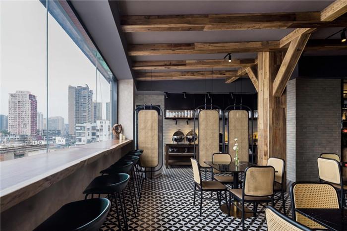 餐厅设计-老建筑改造酒店   海派风情精品酒店改造设计方案