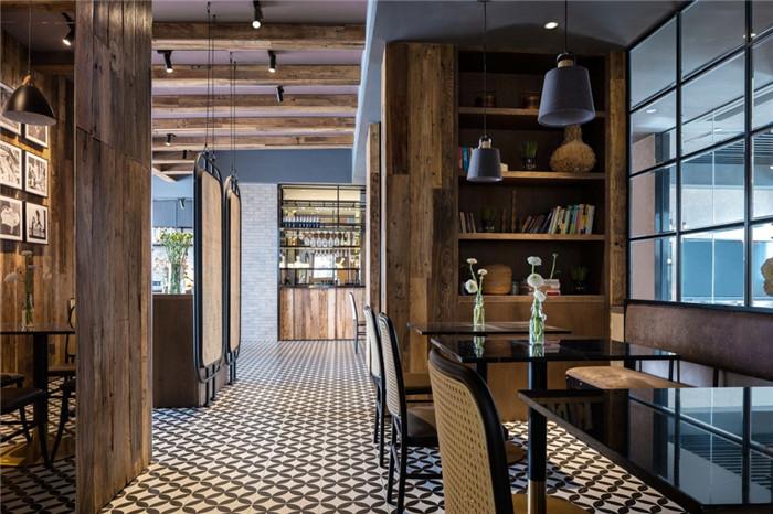 老建筑改造酒店   海派风情精品酒店餐厅改造设计方案