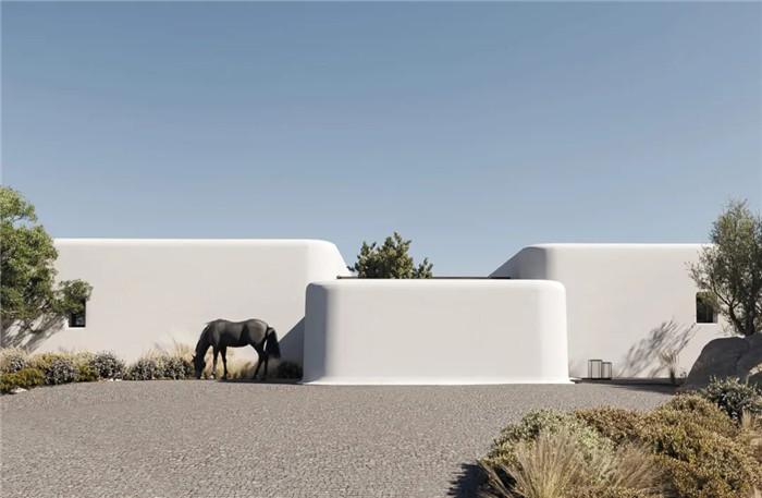 静谧古朴的国外侘寂风度假酒店设计方案