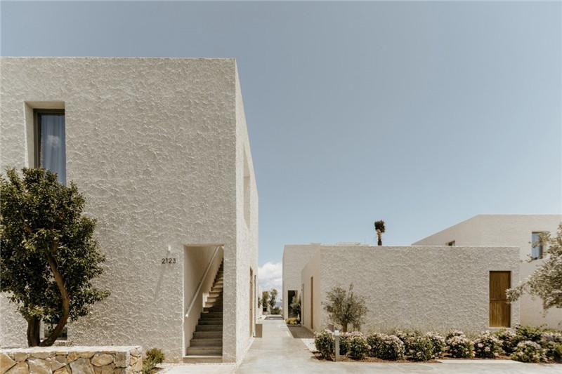 酒店外观设计-Voyage Torba Hotel  土耳其小镇度假精品酒店设计