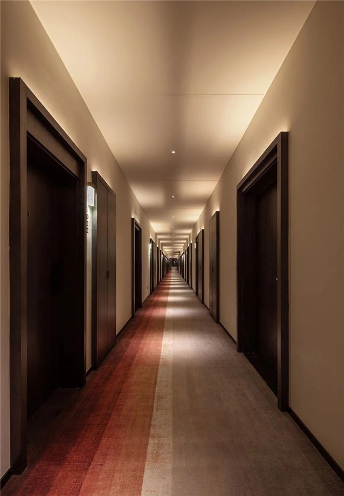 酒店走廊设计-专为年轻客户打造的创意体验型精品酒店设计方案