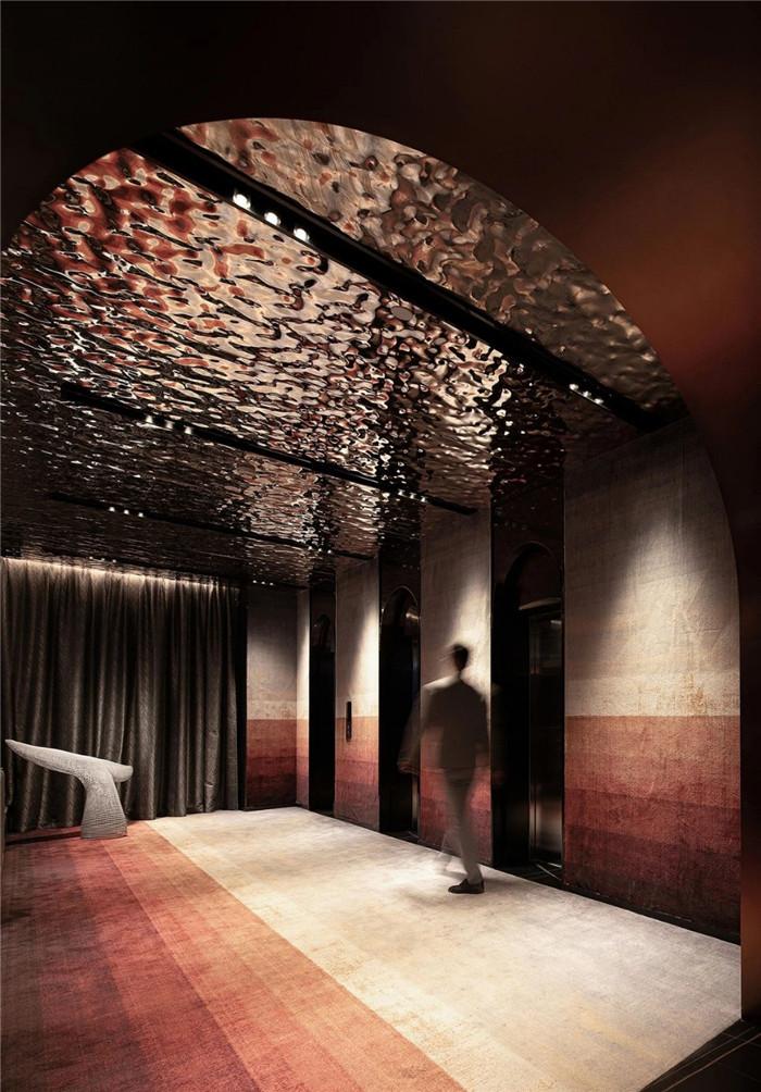 电梯厅设计-专为年轻客户打造的创意体验型精品酒店设计方案