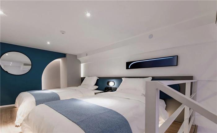 酒店客房设计-专为年轻客户打造的创意体验型精品酒店设计方案