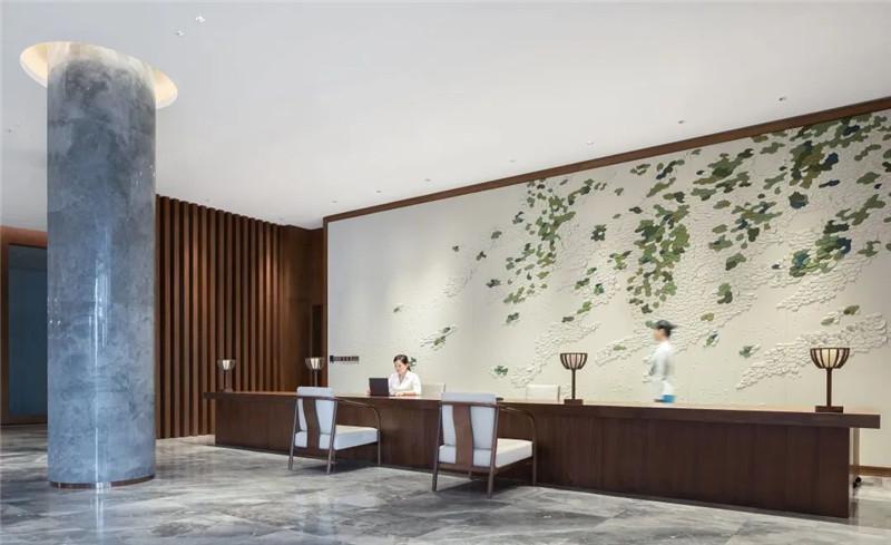 酒店大堂接待台设计-