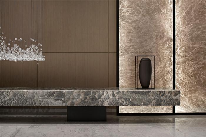 接待台设计-三亚超有格调的度假酒店设计案例推荐