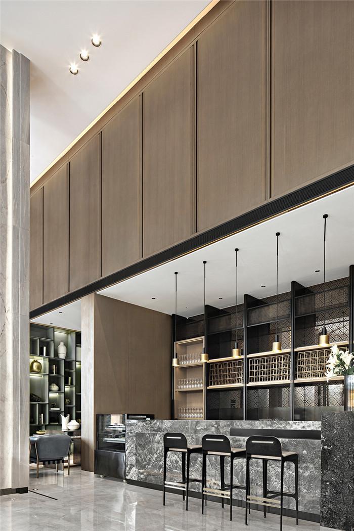 酒店大堂吧设计-三亚超有格调的度假酒店设计案例推荐