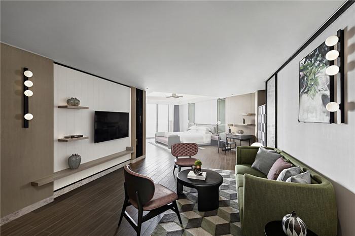 酒店套房设计-三亚超有格调的度假酒店设计案例推荐