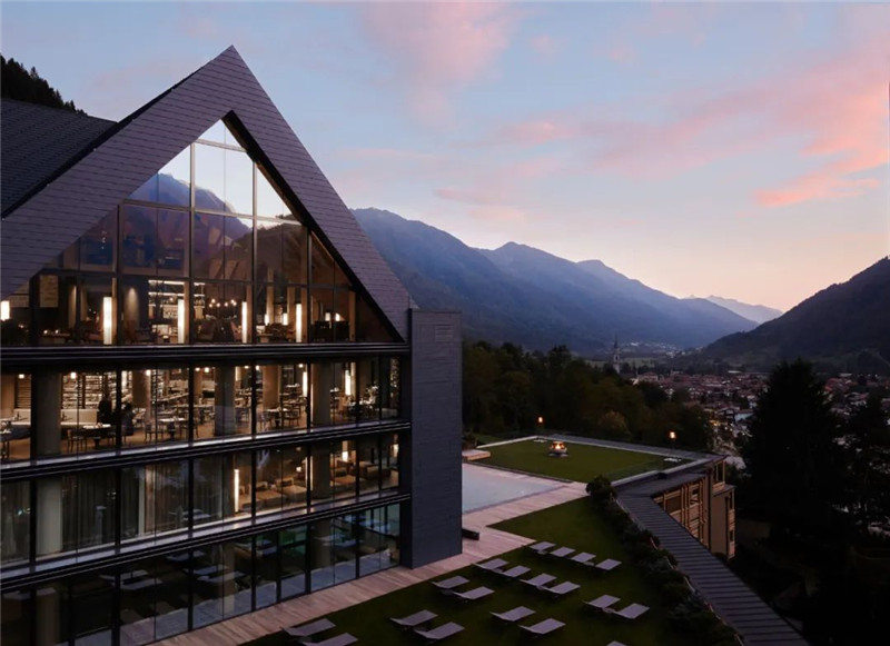 外观设计-当代奢华风Lefay Resort&SPA Dolomiti设计赏析