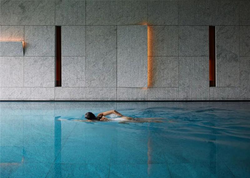 泳池设计-当代奢华风Lefay Resort&SPA Dolomiti设计赏析