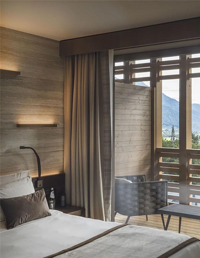 当代奢华风Lefay Resort&SPA Dolomiti设计赏析