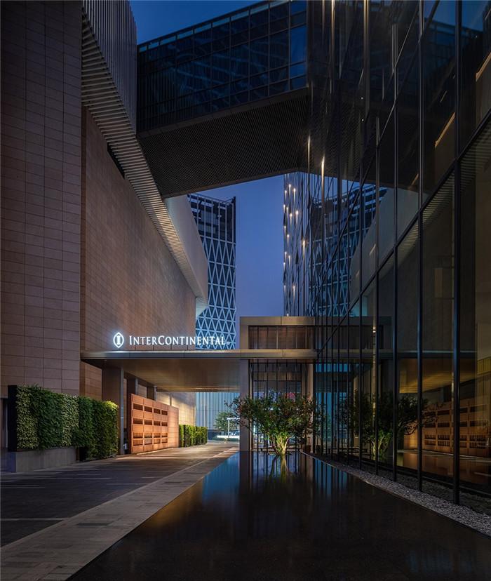 入口设计-以岭南水乡文化为主题的东莞洲际酒店设计案例