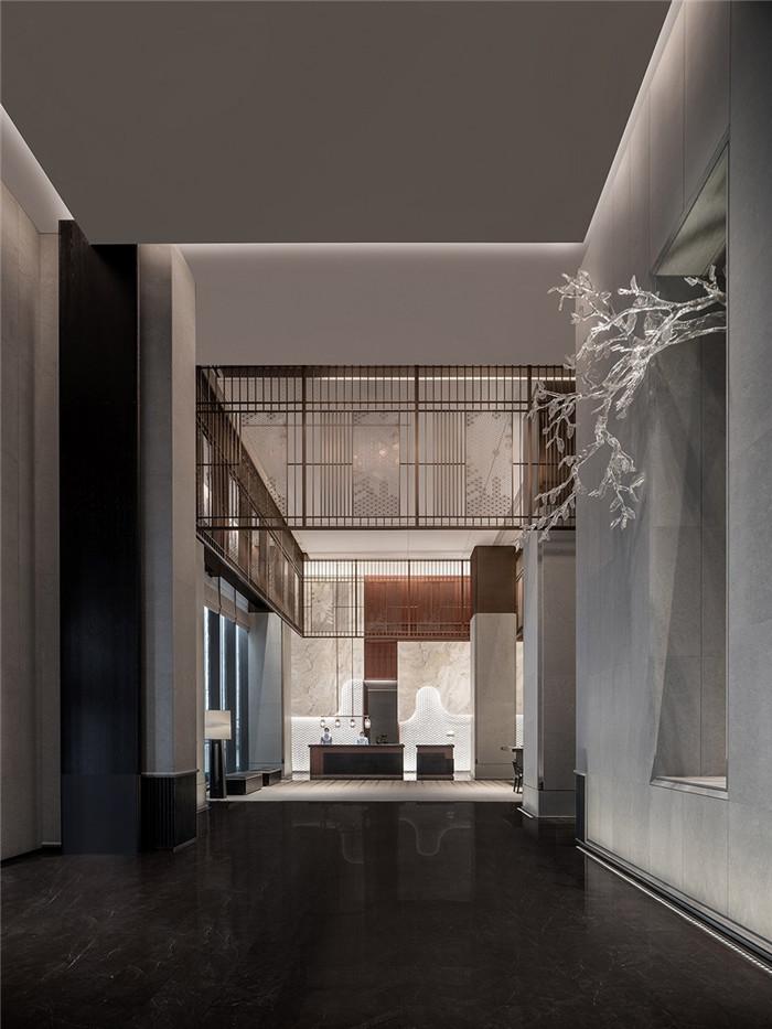 大厅设计-以岭南水乡文化为主题的东莞洲际酒店设计案例