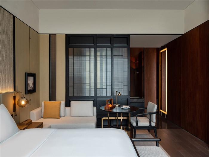 客房设计-以岭南水乡文化为主题的东莞洲际酒店设计案例