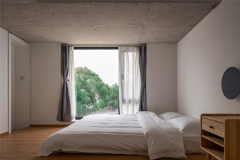 客房设计-郑州民宿设计公司分享峦舍民宿客栈设计方案
