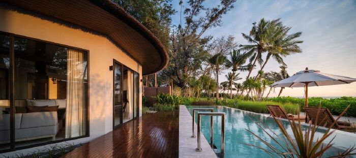 泰国华欣别墅酒店  富有诗意的海滨度假酒店设计