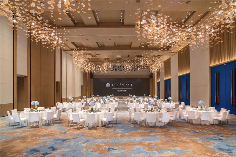 宴会厅设计-现代新中式岳阳铂尔曼五星级酒店设计赏析