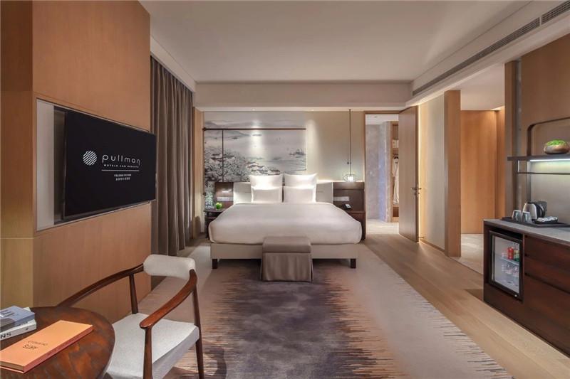 客房设计-现代新中式岳阳铂尔曼五星级酒店设计赏析
