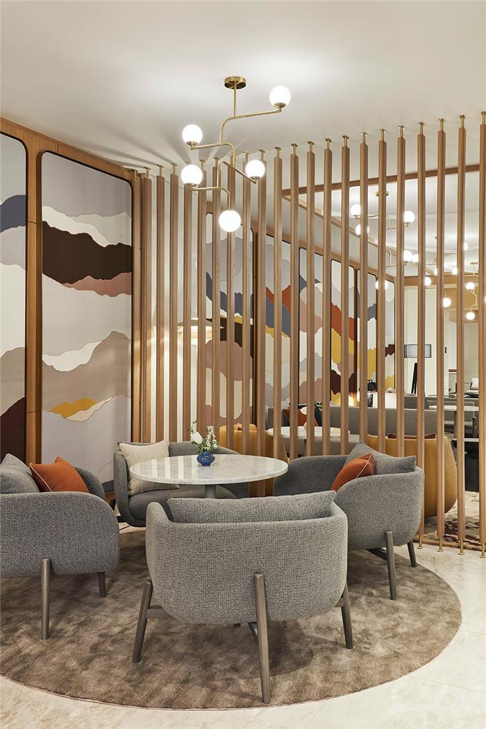 酒店设计师和艺术家的合作:蒙特利尔万豪酒店设计