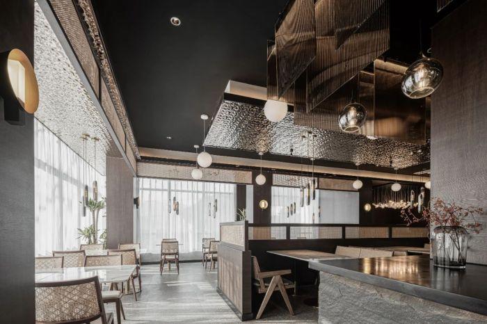 自然与人文融合的龙苍沟108招待社酒店设计